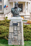 Estatua de Dimitrie Ghica - busto Foto de archivo