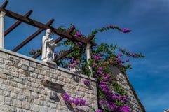 Estatua de Diocletian, fractura Fotografía de archivo