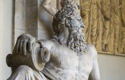 Estatua de dios Arno del río Imagenes de archivo