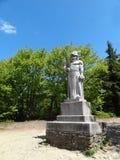 Estatua de dios pagano Radegast en B imágenes de archivo libres de regalías