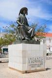 Estatua de Dom Henrique del infante, Lagos, Portugal foto de archivo