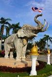 Estatua de Eiephant Imágenes de archivo libres de regalías