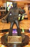 Estatua de Elvis Presley Imagen de archivo libre de regalías