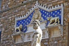 Estatua de Ercole e Caco de Baccio Bandinelli Fotografía de archivo