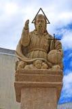 Estatua de Eterno del capellán. Presicce. Puglia. Italia. Imagen de archivo