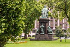 Estatua de Ferenc Deak Fotos de archivo libres de regalías