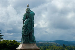 Estatua de Flora MacDonald - Inverness, Escocia Imagenes de archivo