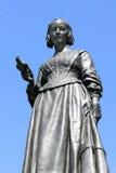 Estatua de Florence Nightingale Imágenes de archivo libres de regalías