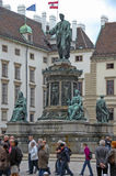 Estatua de Francisco II Imagen de archivo libre de regalías