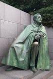 Estatua de Franklin Roosvelt Foto de archivo libre de regalías
