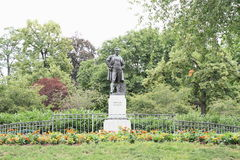 Estatua de Frantisek Ladislav Rieger Fotos de archivo libres de regalías