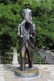 Estatua de Franz Kafka fotografía de archivo libre de regalías