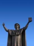 Estatua de Franzisk Skorina Imagenes de archivo