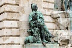 Estatua de Galeotto Marzio Fotos de archivo