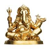 Estatua de Ganesha aislada Fotos de archivo libres de regalías