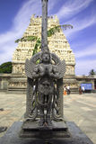 Estatua de Garuda, Belur, la India Foto de archivo