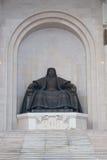 Estatua de Genghis Khan Imágenes de archivo libres de regalías
