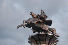 Estatua de Genghis Khan Imagen de archivo libre de regalías