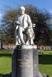 Estatua de George Salmon en la universidad de la trinidad en Dublin Ireland, 2015 Foto de archivo libre de regalías