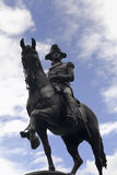 Estatua de George Washington Fotos de archivo