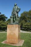 Estatua de George Washington como albañil principal del escultor de Donald De Lue en Flushing Meadows Corona Park imagen de archivo