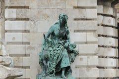 Estatua de Helen la feria Fotografía de archivo libre de regalías