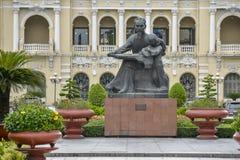 Estatua de Ho Chi Minh Foto de archivo libre de regalías