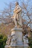 Estatua de Ioannis Varvakis Foto de archivo libre de regalías