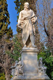 Estatua de Ioannis Varvakis Fotos de archivo libres de regalías