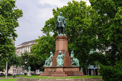 Estatua de Istvan Szechenyi Imagen de archivo libre de regalías