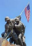 Estatua de Iwo Jima Fotografía de archivo libre de regalías