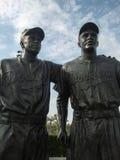 Estatua de Jackie Robinson Imagenes de archivo