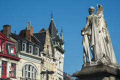 Estatua de Jan Frans Willems en señor Imagen de archivo