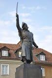 Estatua de Jan Kilinski en Varsovia, Polonia fotos de archivo