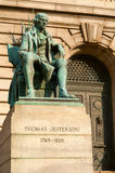 Estatua de Jefferson Fotografía de archivo libre de regalías