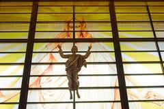 Estatua de Jesús Imagen de archivo libre de regalías