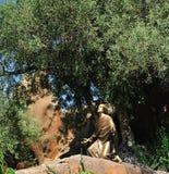 Estatua de Jesús? Fotografía de archivo libre de regalías
