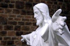 Estatua de Jesús/de dios Foto de archivo libre de regalías