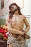 Estatua de Jesús en Viernes Santo imagen de archivo libre de regalías
