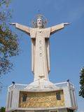 Estatua de Jesús - Vietnam, Vung Tau Fotos de archivo