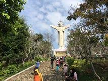 Estatua de Jesús en Vung Tau, Vietnam Imagen de archivo libre de regalías
