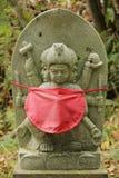 Estatua de Jizo imagenes de archivo