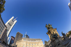 Estatua de Johannes Gutenberg, Fotos de archivo