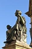 Estatua de Johannes Gutenberg, Imagen de archivo libre de regalías