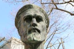 Estatua de Johannes Gutenberg Imágenes de archivo libres de regalías