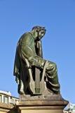 Estatua de Johannes Gutenberg, inventor de la impresión del libro Fotos de archivo libres de regalías