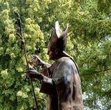 Estatua de Juan Pablo II Fotografía de archivo
