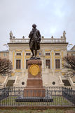 Estatua de Juan Wolfgang Goethe. Fotos de archivo