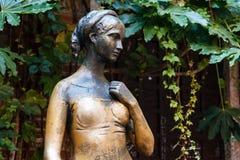 Estatua de Juliet Capulet en su patio trasero de la casa Fotografía de archivo libre de regalías