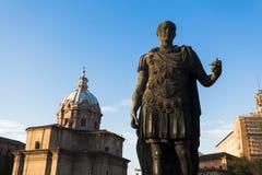 Estatua de Julio César Imagen de archivo libre de regalías